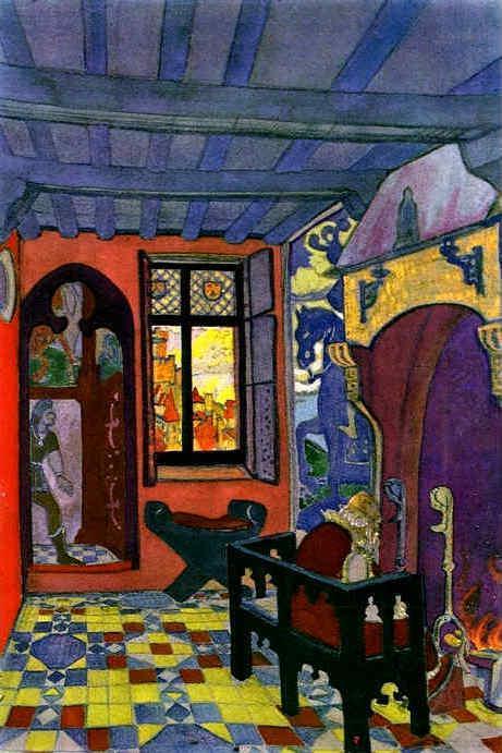 King's room - Nicholas Roerich