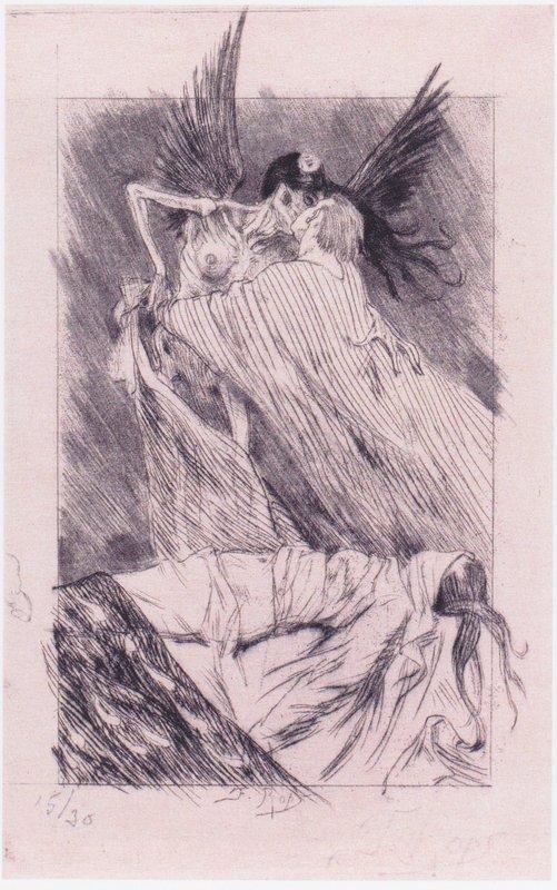 Kisses of Death - Felicien Rops