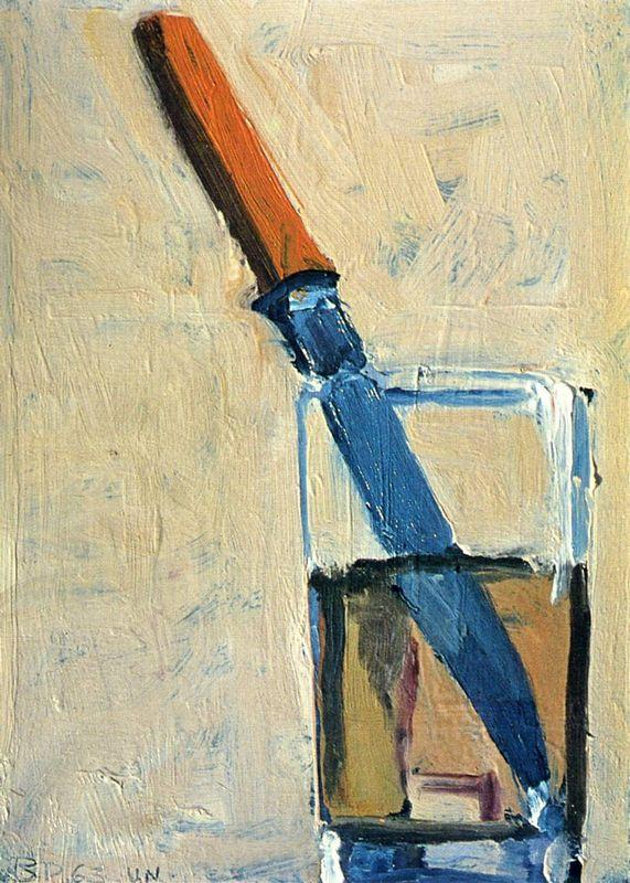 Knife and Glass - Richard Diebenkorn