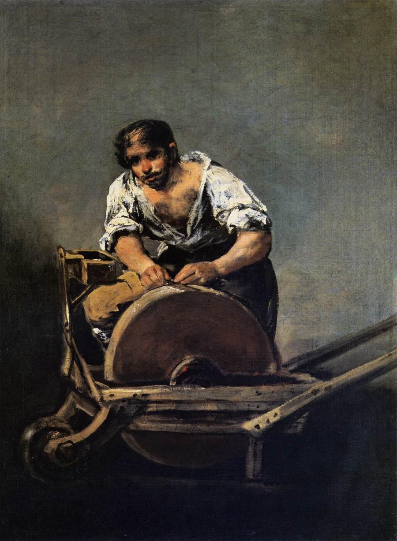 Knife Grinder - Francisco Goya