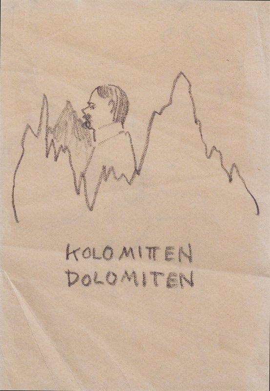 Kolo middle Dolomites - Koloman Moser