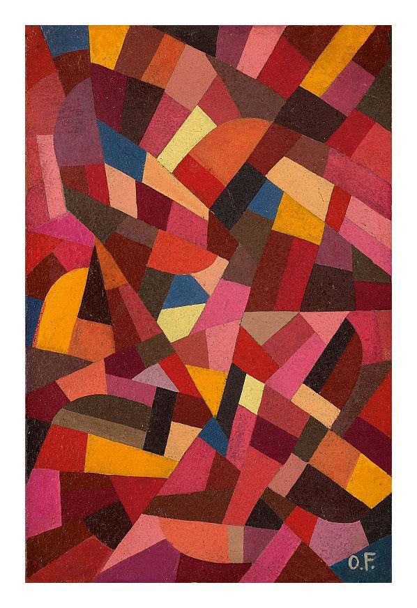 Komposition - Otto Freundlich