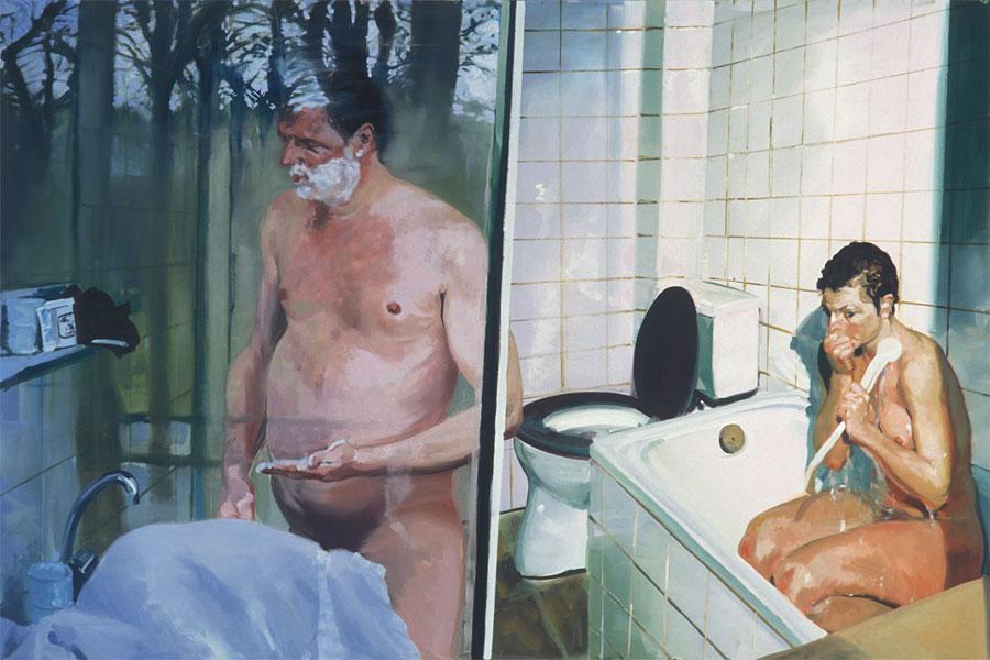 Krefeld Project Bathroom Scene 2 - Eric Fischl
