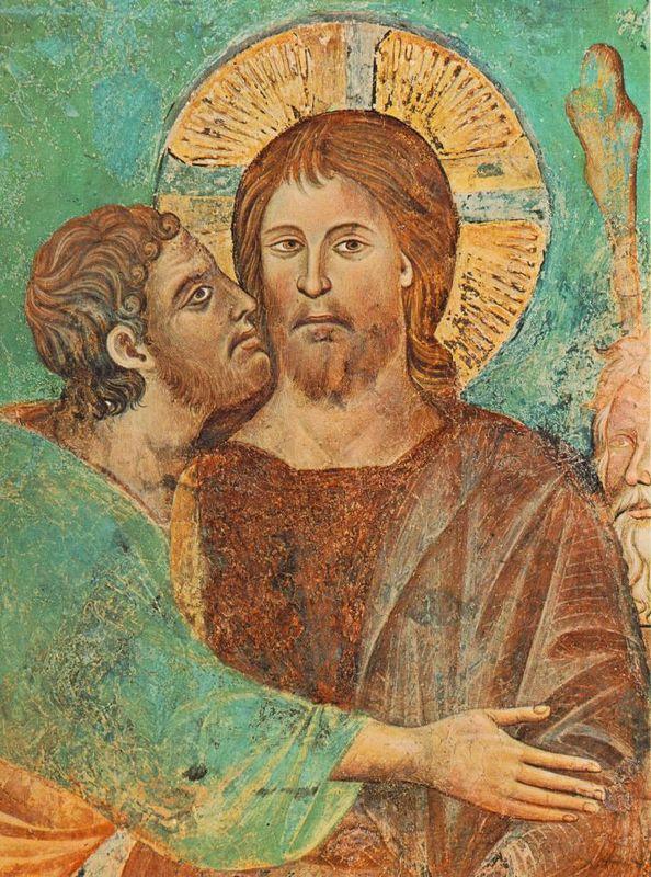 Kristi gripande (detail) - Cimabue