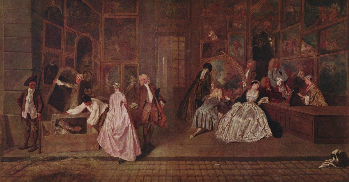 L'Enseigne de Gersaint - Antoine Watteau