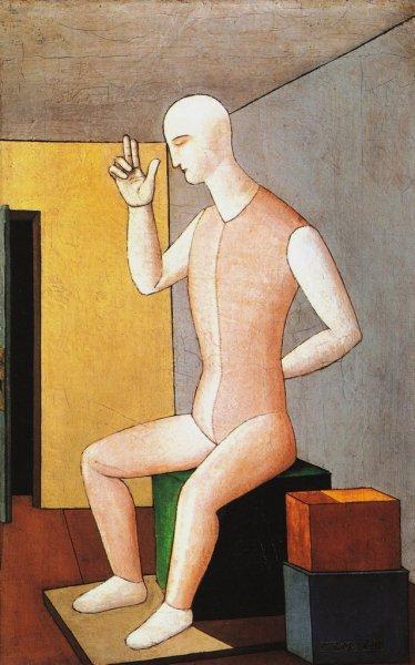 L'idolo ermafrodita  - Carlo Carra