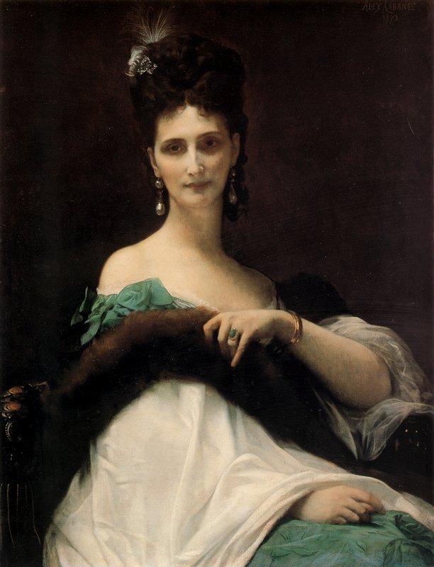 La Comtesse de Keller - Alexandre Cabanel