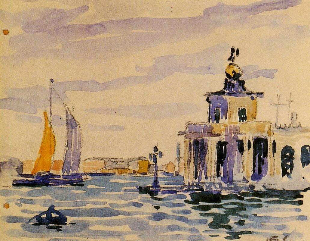 La Dogana - Henri-Edmond Cross