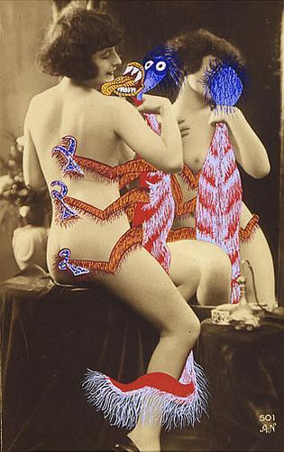 La Dragoulette (from La Vie Amoureuse des Spumiferes) - Georges Hugnet