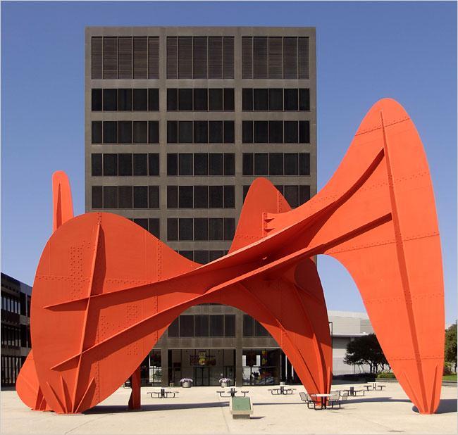 La Grande Vitesse - Alexander Calder
