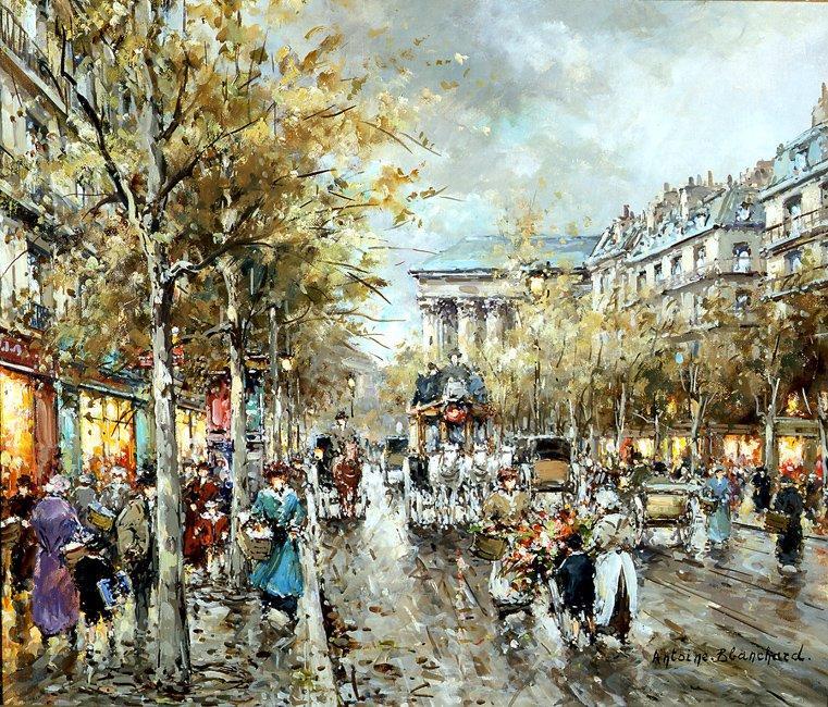 La Madeleine Boulevard des Capucines - Antoine Blanchard