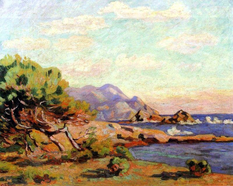 La Pointe du Lou Gaou - Armand Guillaumin