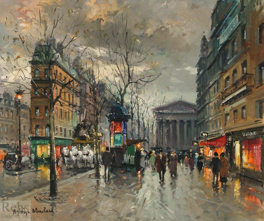 La Rue Tronchet Paris - Antoine Blanchard
