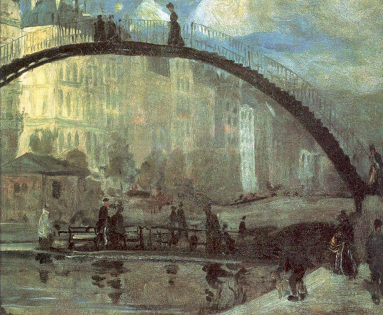 La Villette - William James Glackens