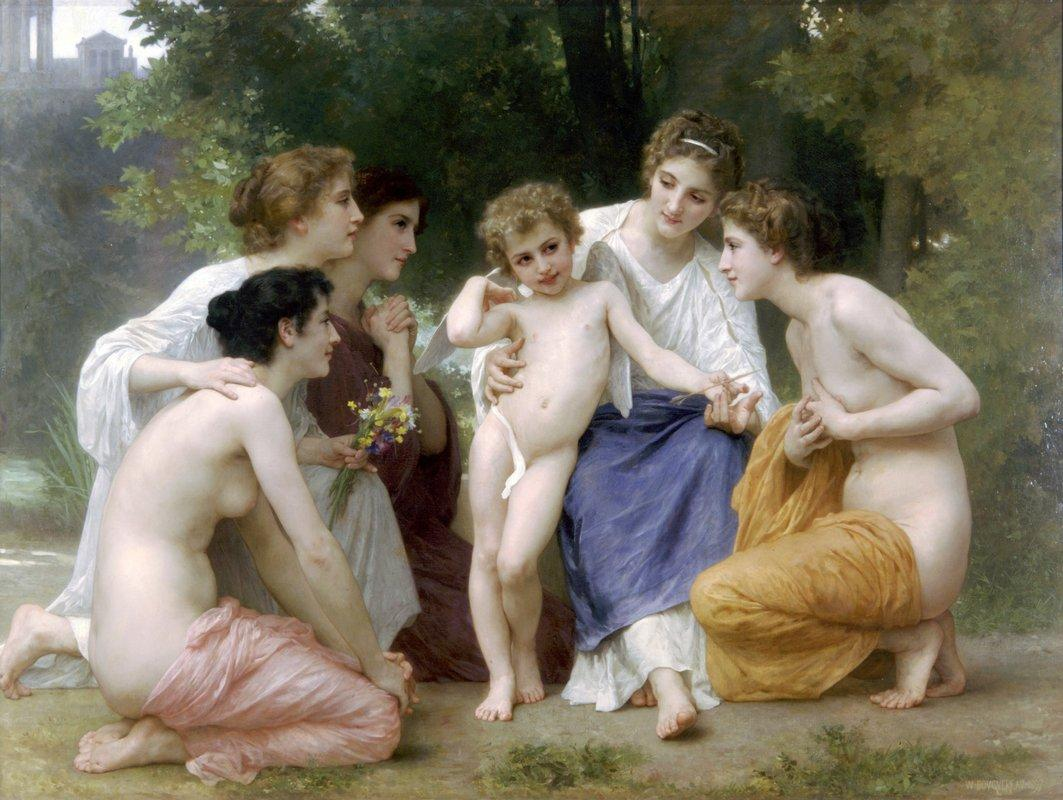 Ladmiration - William-Adolphe Bouguereau