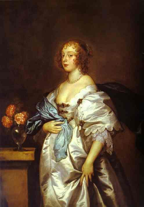 Lady Borlase - Anthony van Dyck