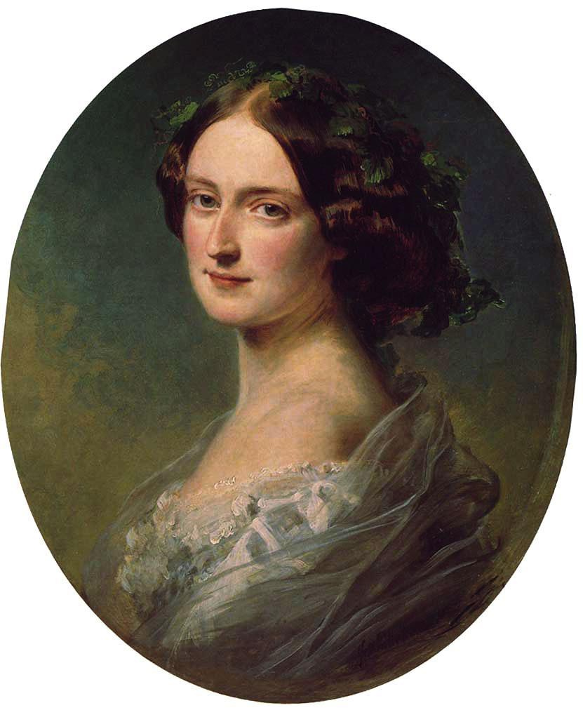 Lady Clementina Augusta Wellington Child Villiers - Franz Xaver Winterhalter