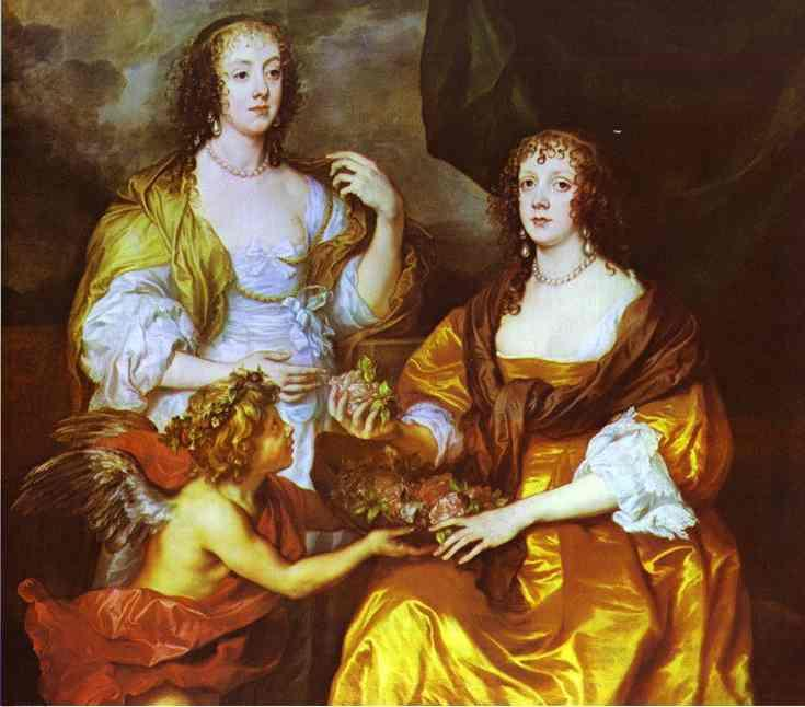 Lady Elizabeth Thimbleby and Dorothy, Viscountess Andover - Anthony van Dyck