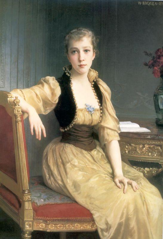 Lady Maxwell - William-Adolphe Bouguereau
