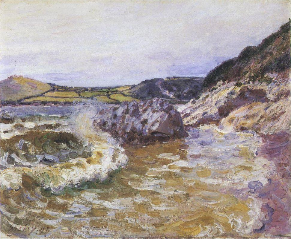 Lady s Cove - Alfred Sisley