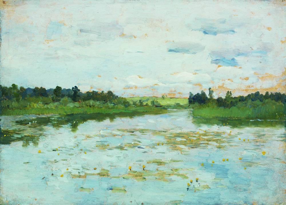 Lake - Isaac Levitan