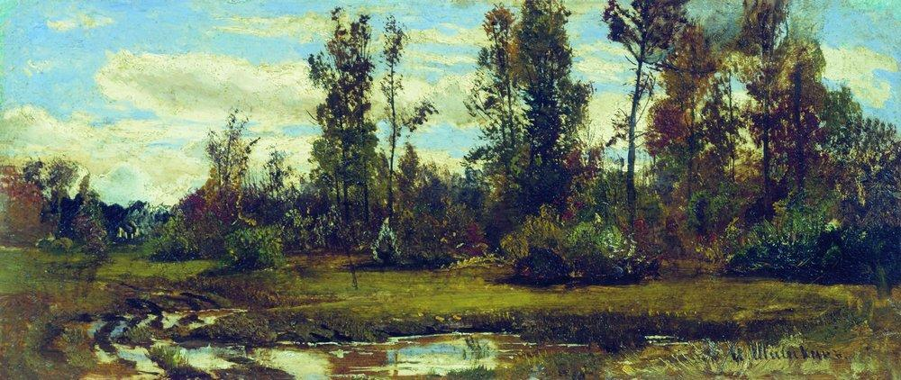 Lake in the forest - Isaac Levitan