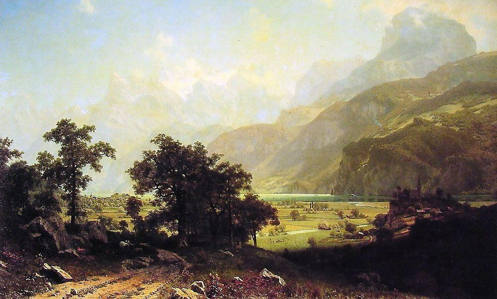 Lake Lucerne, Switzerland - Albert Bierstadt