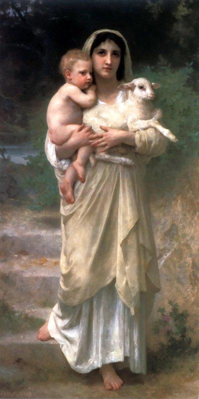 Lambs - William-Adolphe Bouguereau