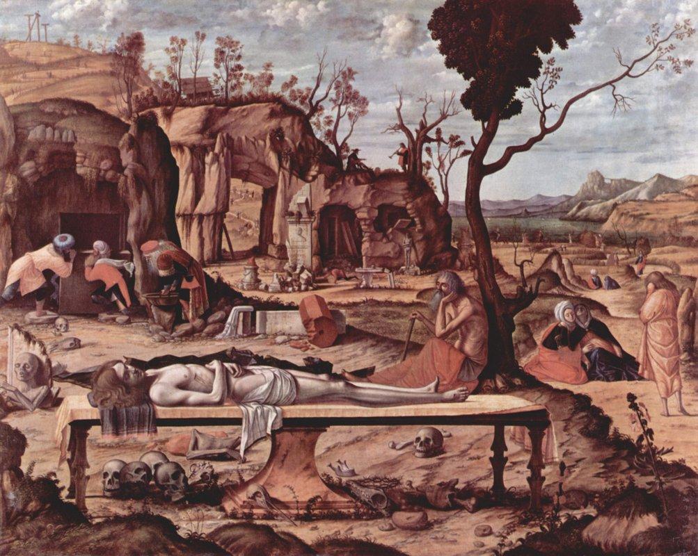 Lamentation of Christ - Matthias Grunewald