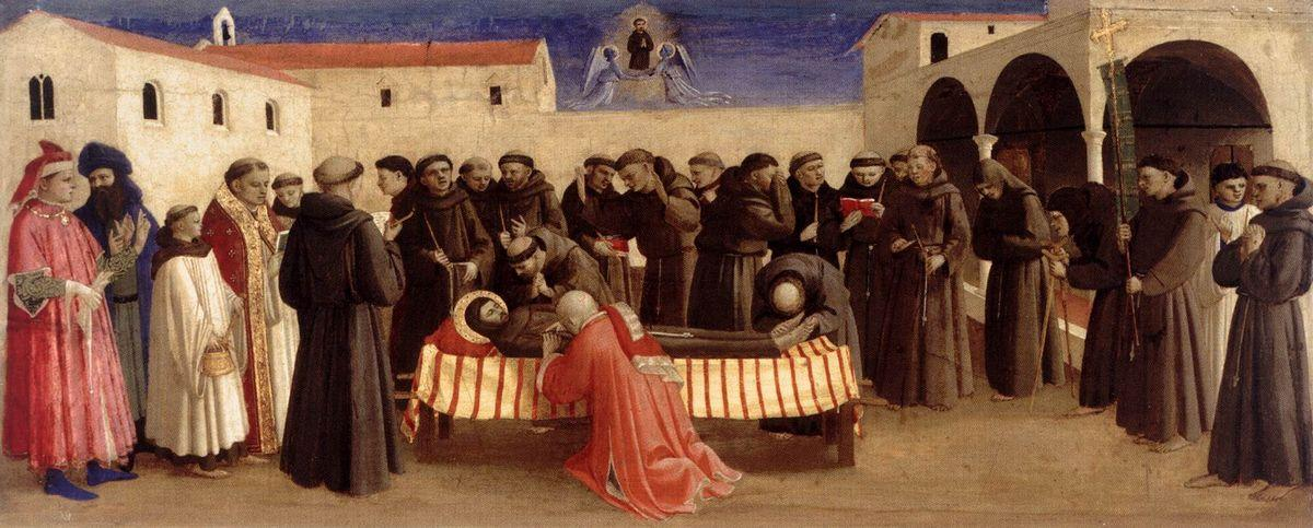 Lamentation over St. Francis - Fra Angelico