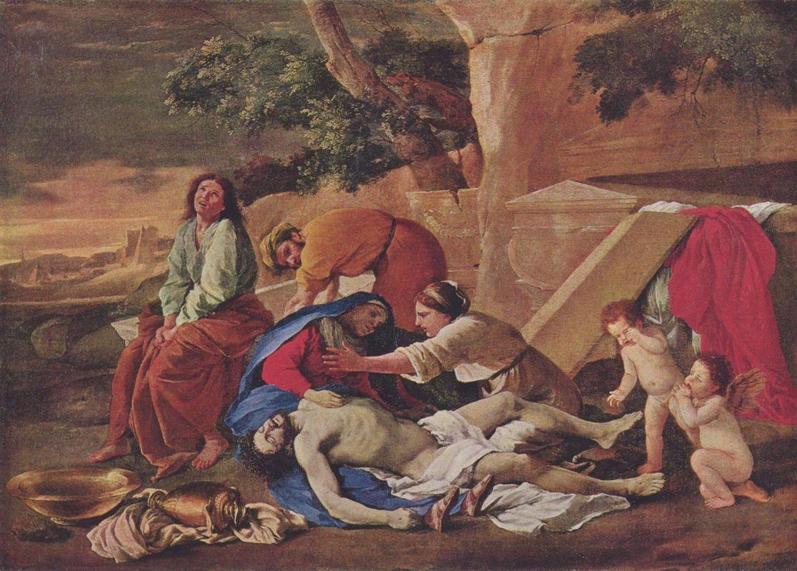 Lamentation over the Body of Christ - Nicolas Poussin