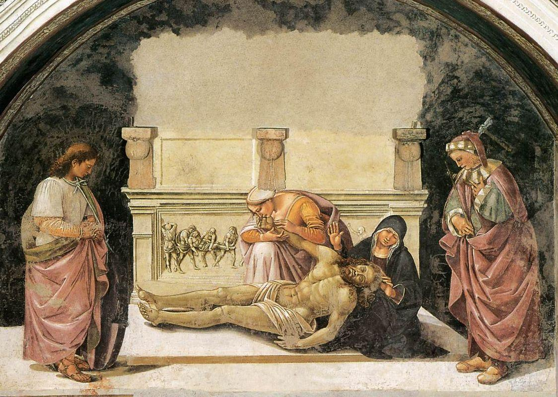 Lamentation over the Dead Christ - Luca Signorelli