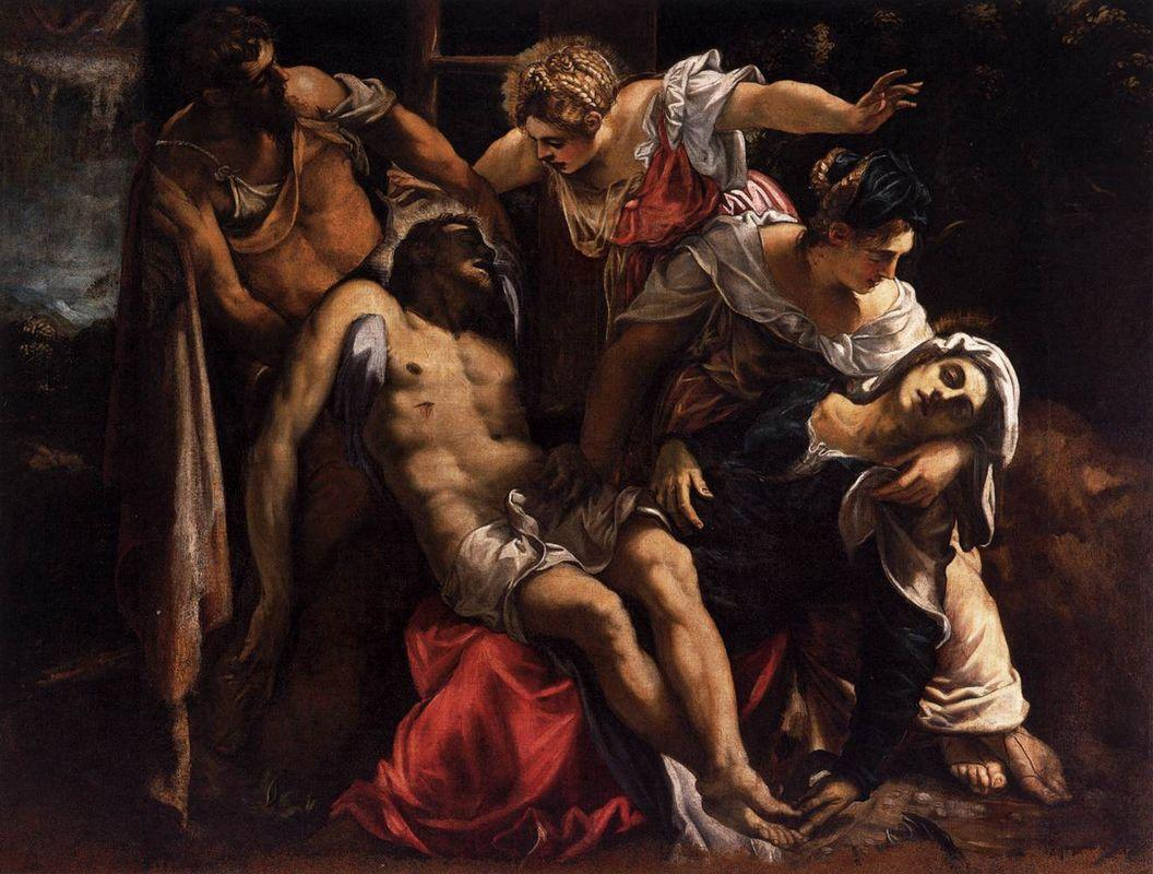 Lamentation over the Dead Christ - Paolo Veronese