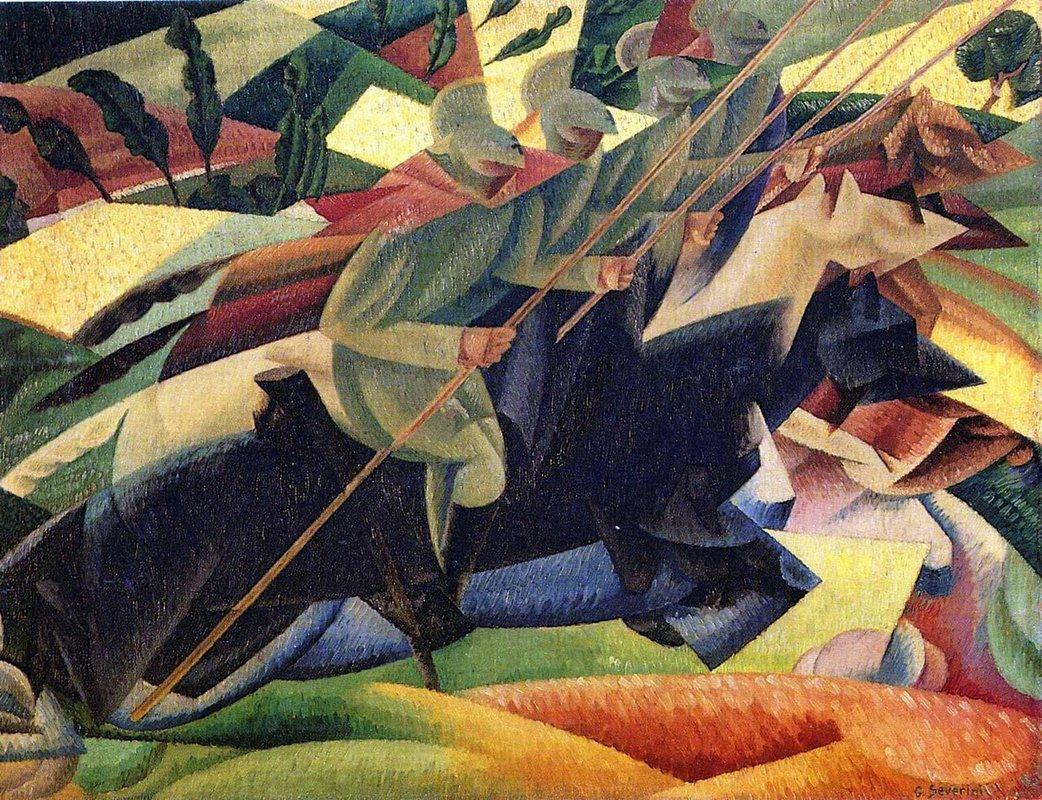 Lancers - Gino Severini