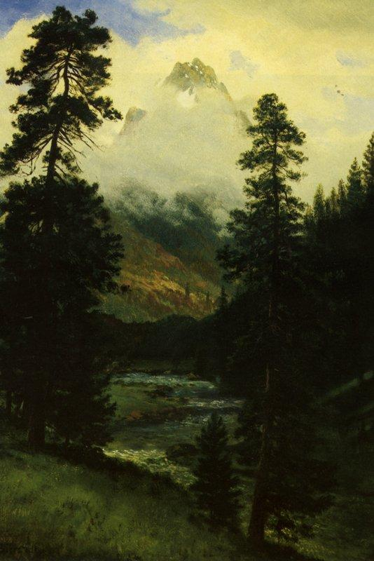 Landers Peak - Albert Bierstadt