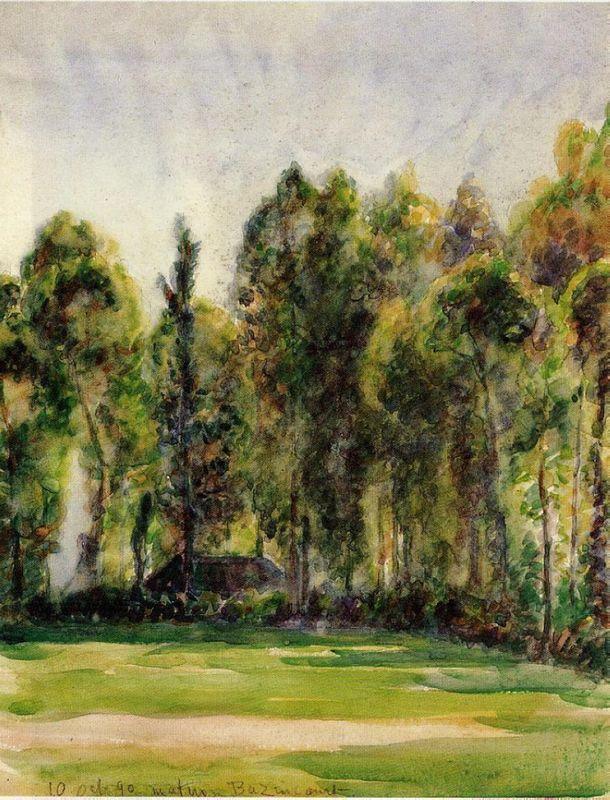 Landscape - Camille Pissarro