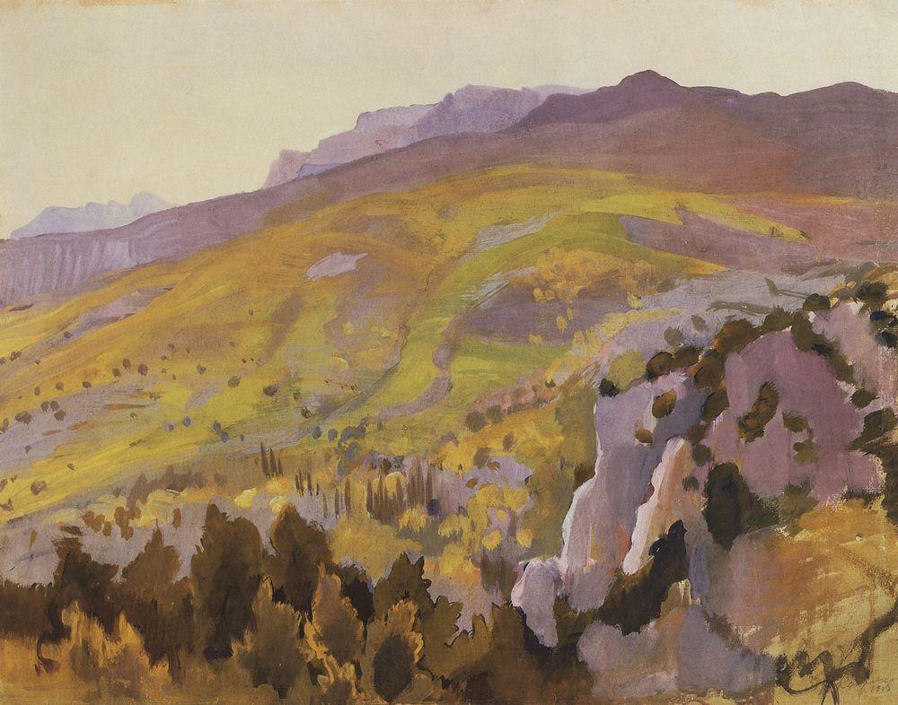 Landscape  - Nicholas Roerich