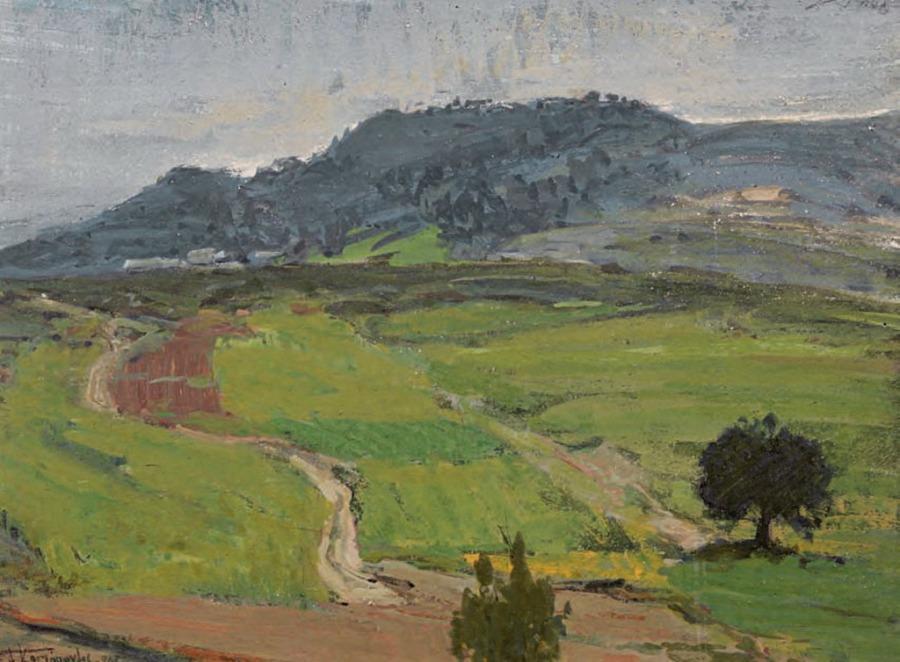 Landscape - Alekos Kontopoulos