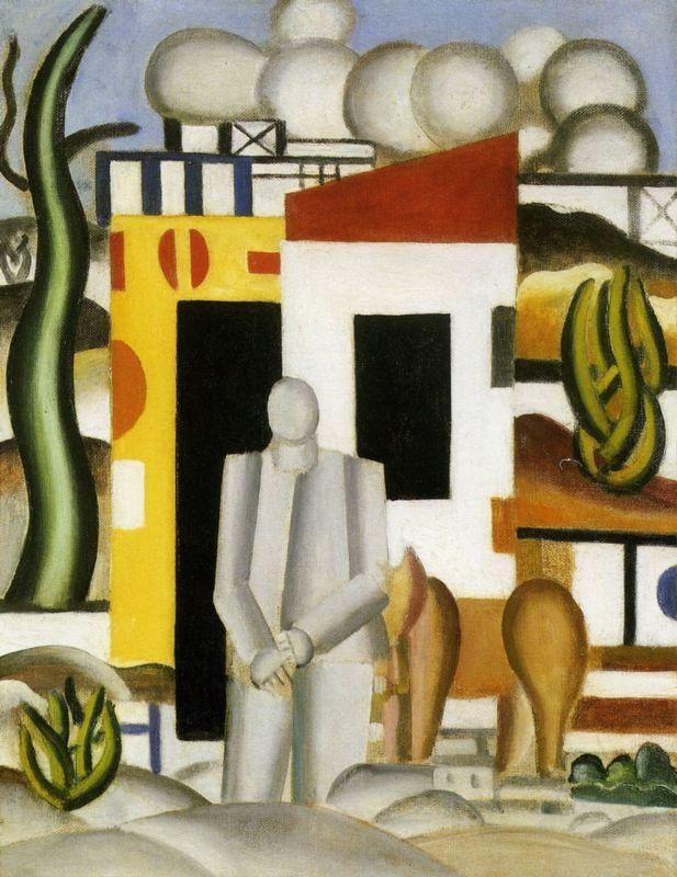 Landscape animated 1st study - Fernand Leger