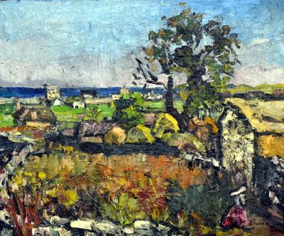 Landscape at Mangalia - Ion Tuculescu