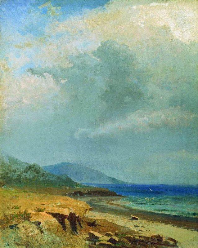 Landscape. Crimea - Fyodor Vasilyev