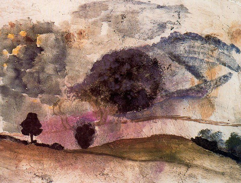 Landscape in Morvan - Balthus