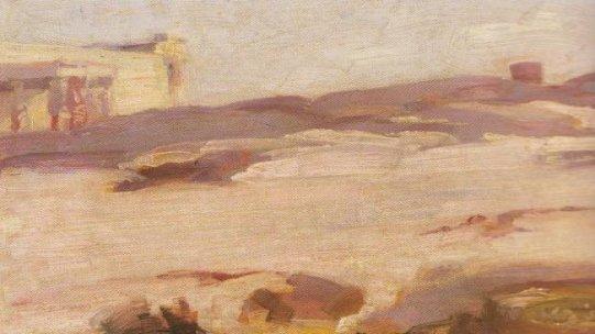 Landscape,Karyatides - Nikolaos Lytras