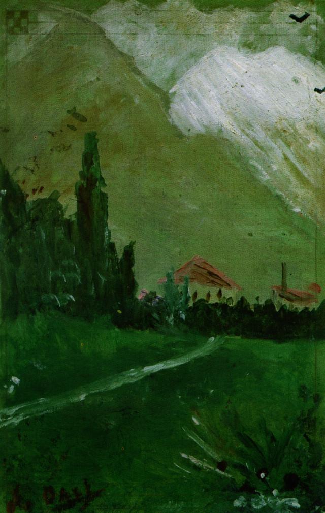 Landscape Near Figueras - Salvador Dali