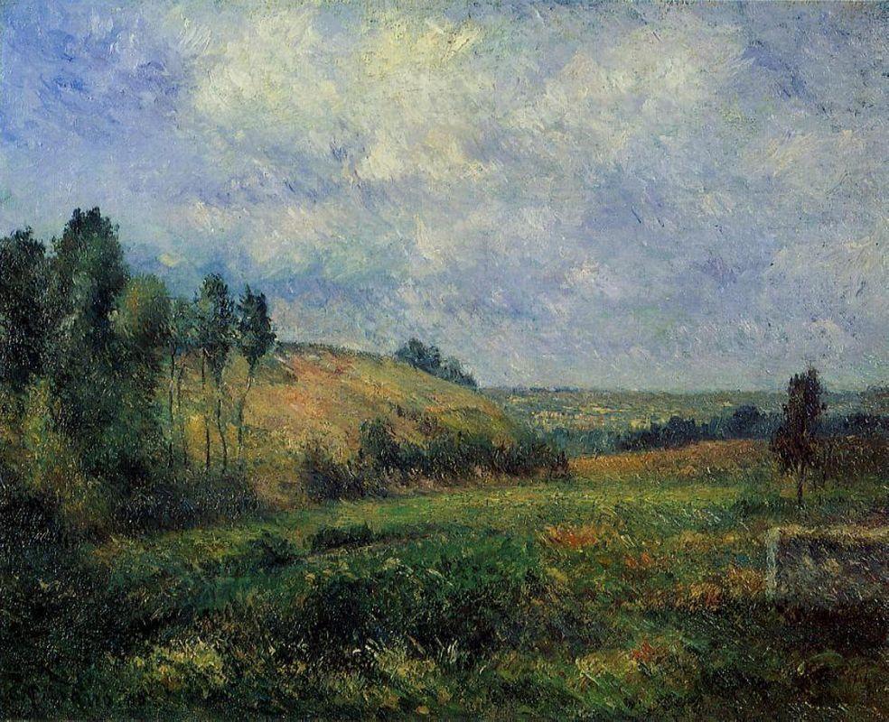 Landscape, near Pontoise - Camille Pissarro