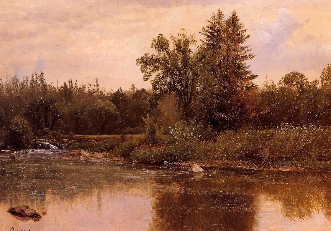 Landscape, New Hampshire - Albert Bierstadt