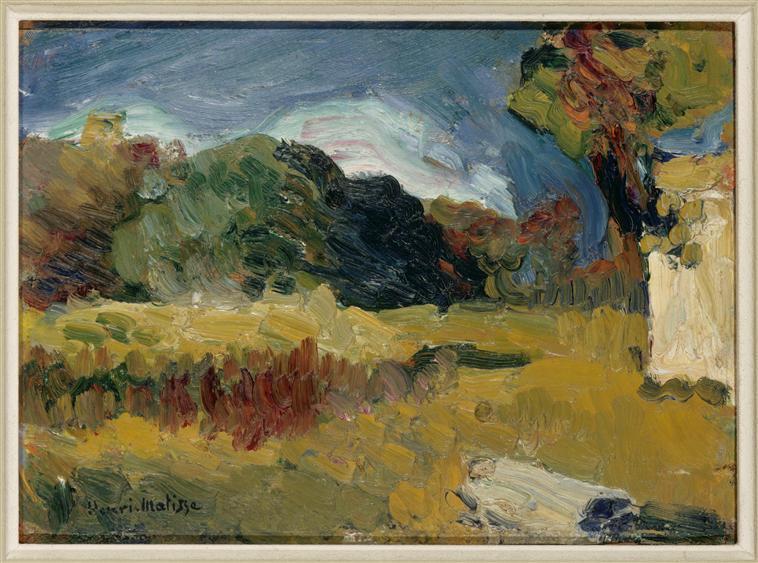Landscape of Corsica - Henri Matisse