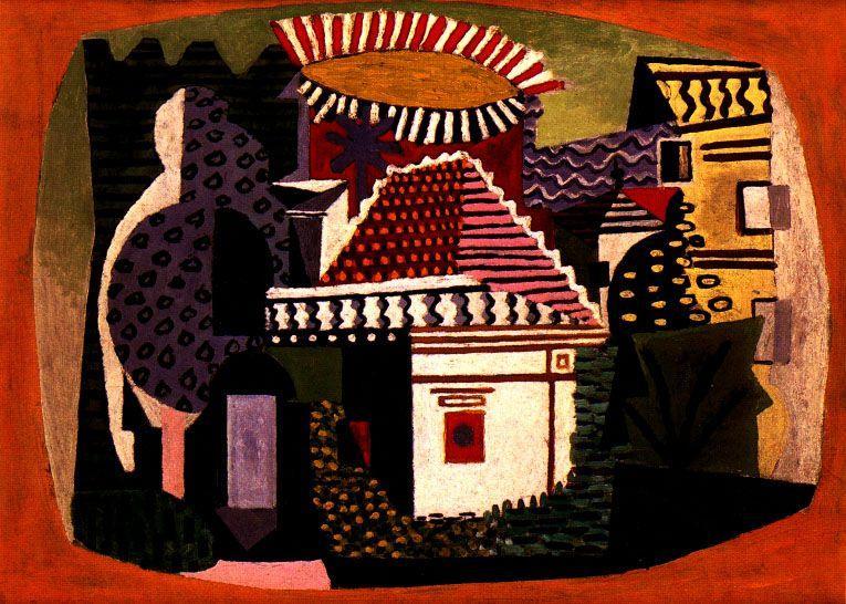 Landscape of Juan-les-Pins - Pablo Picasso