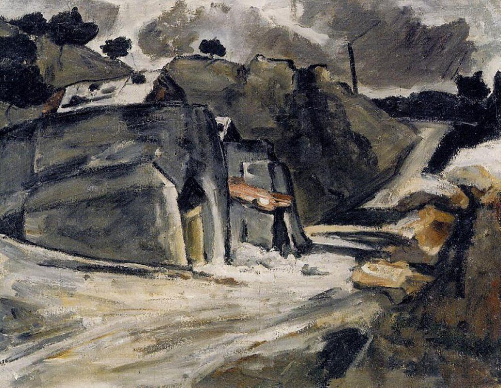 Landscape of Provence - Paul Cezanne