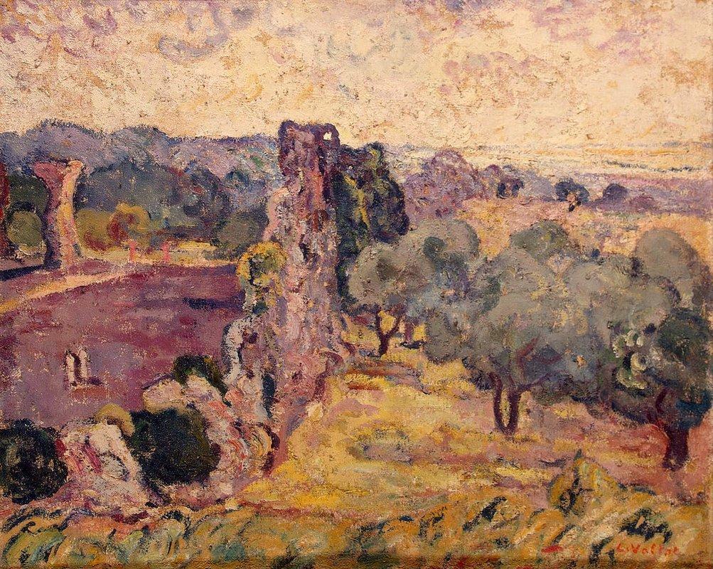 Landscape of the South of France - Louis Valtat
